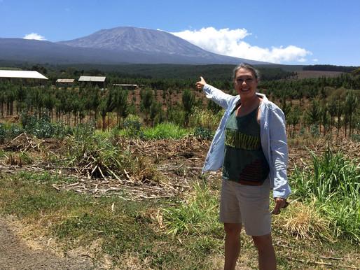 Around the Base of Mt. Kilimanjaro