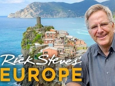 Rick Steves Image with lake and castle