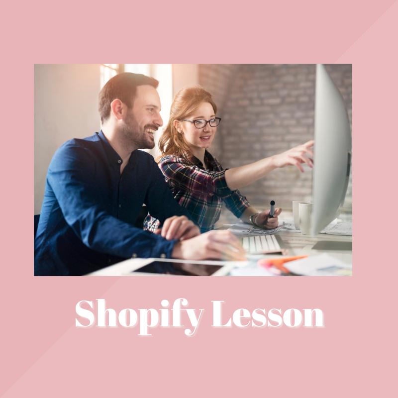 Shopify Lesson