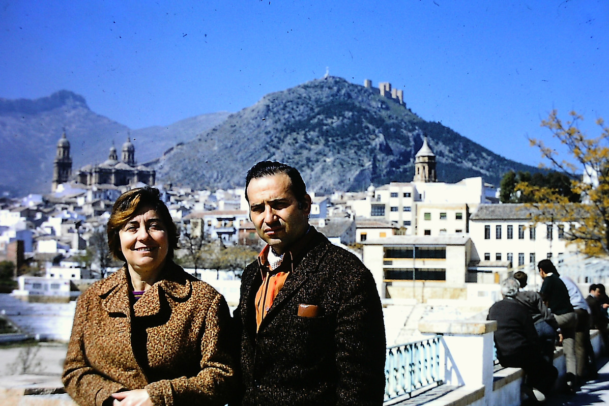 Jaen with sister late 60s:70s.JPG
