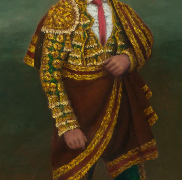 Alberos XX: Self Portrait, Guirado el toreador, Undated oilon