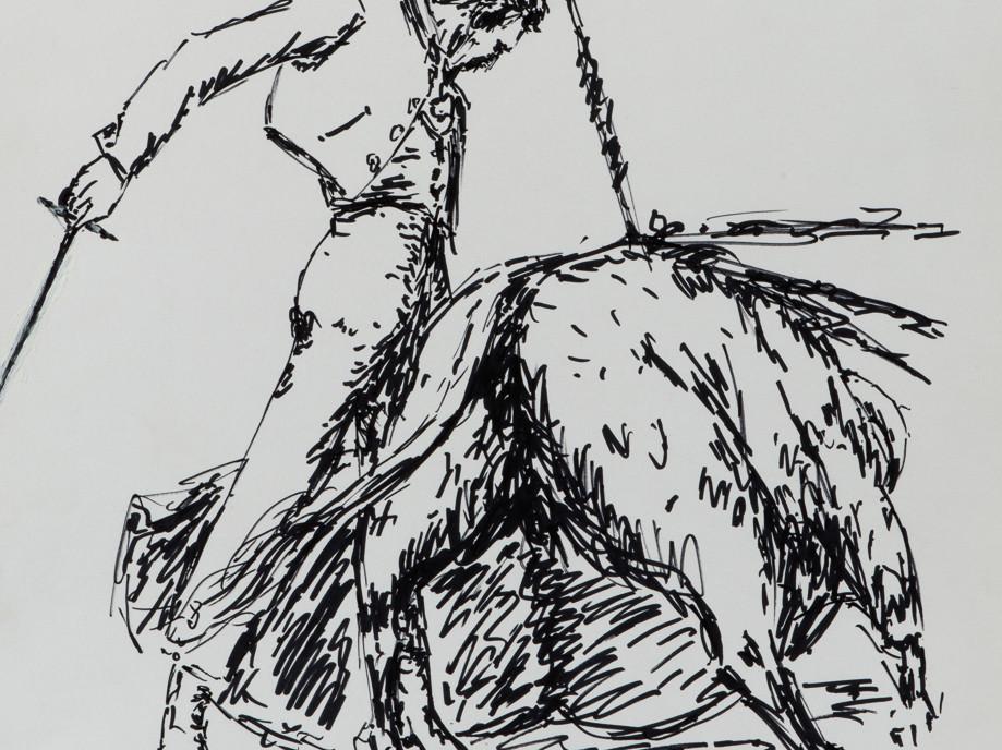 Alberos XV, Undated pen on paper
