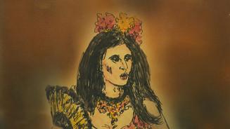 Retrato wn lw cercania - Carmen