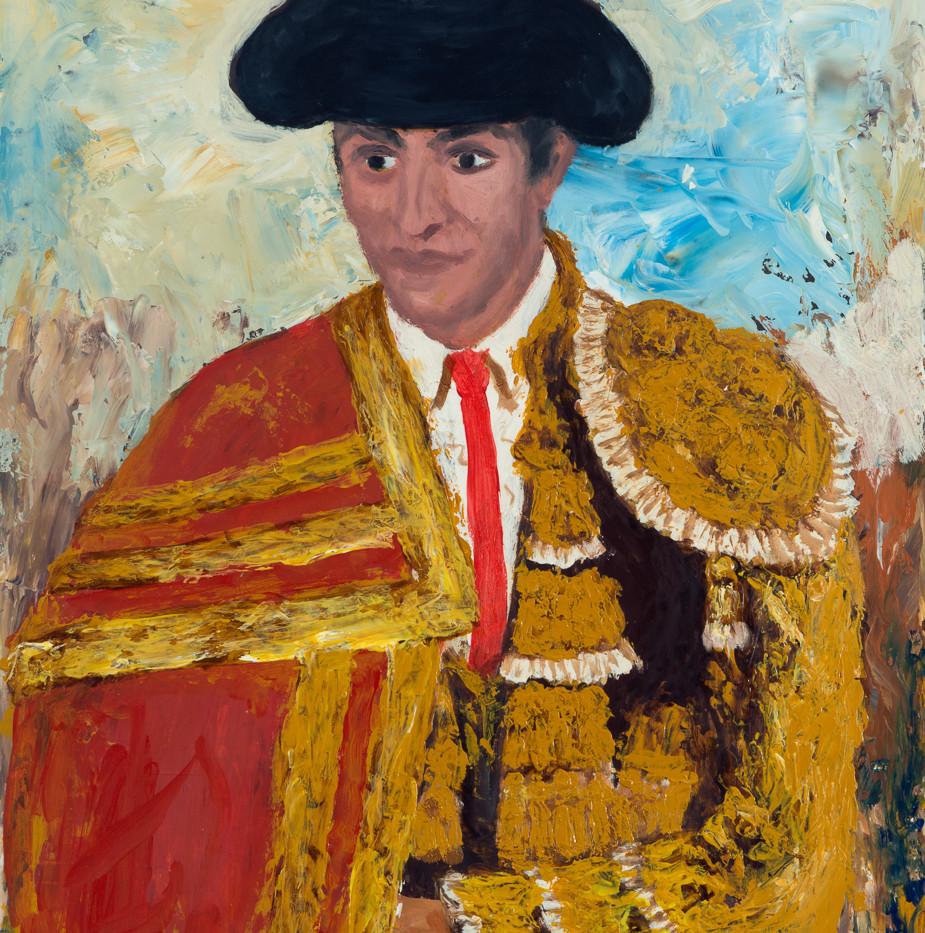 Alberos IX: Salvador Sánchez Povedano 'Frascuelo', Undated Oil