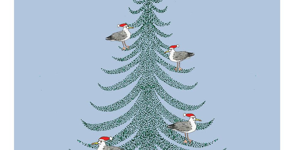 Seagul Christmas Tree