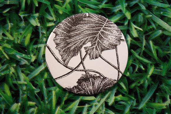 Vine Leaf Compact Mirror