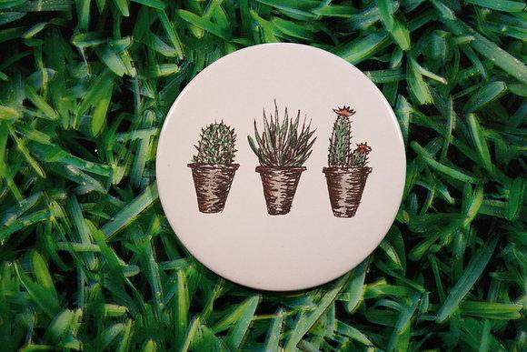 3 Plants Compact Mirror