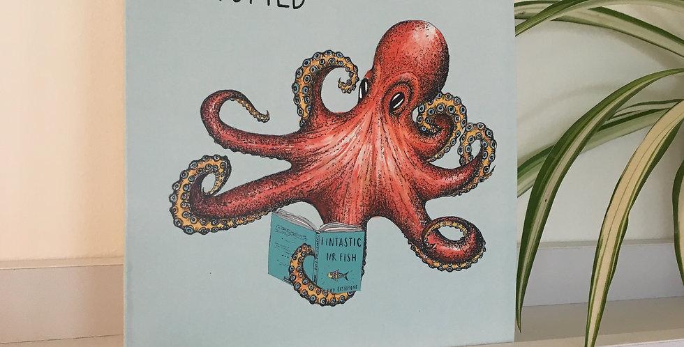 Octopied Greetings Card