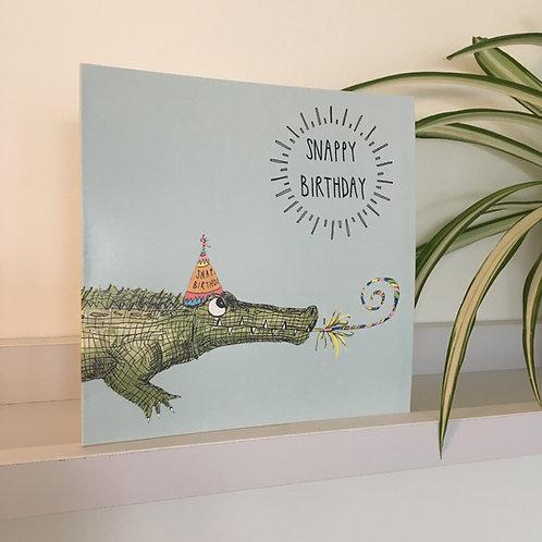 Snappy Birthday Greetings Card