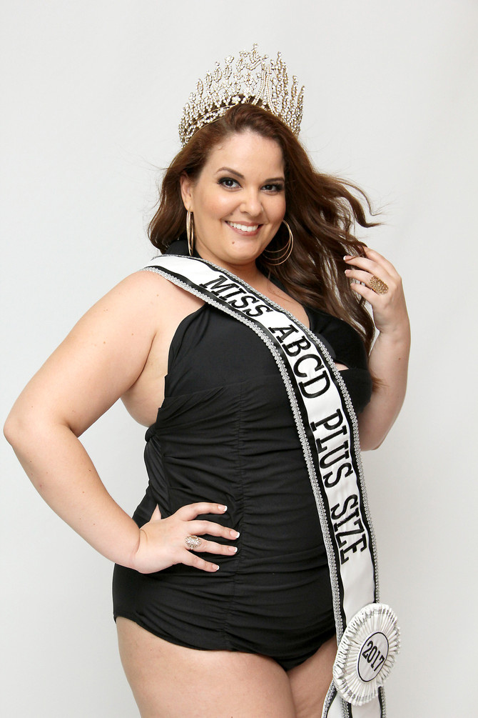 Miss ABCD Plus Size no Miss Brasil