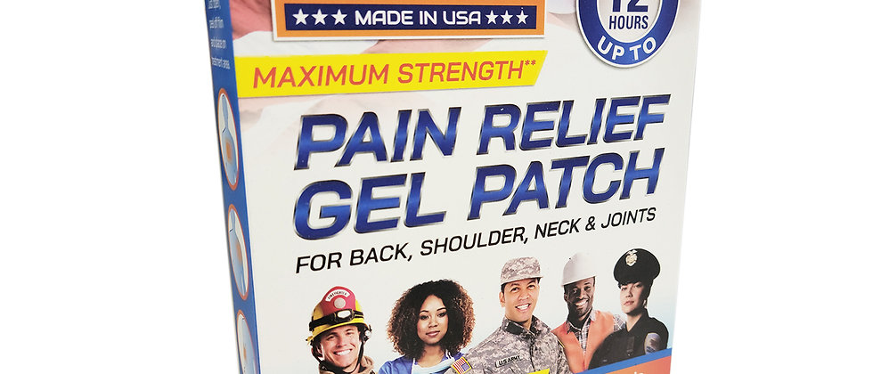 First Care Pain Relief Lidocaine 4% Patch (5 Patches/Box)