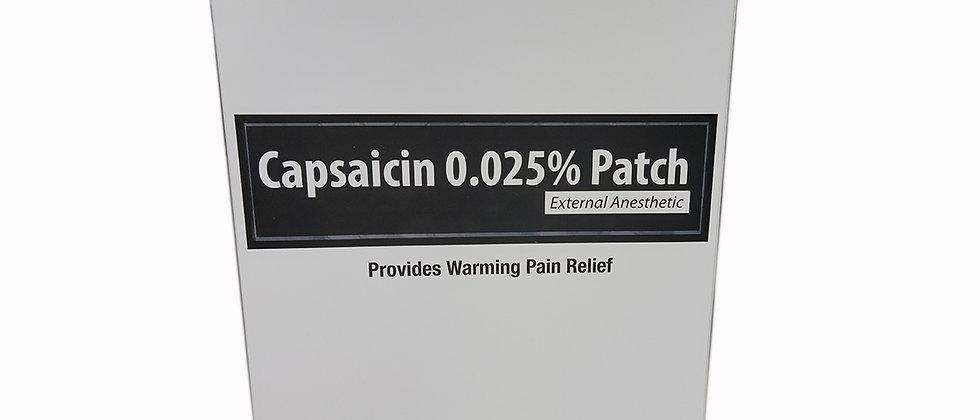 Capsaicin 0.025% Patch (10 Patch)