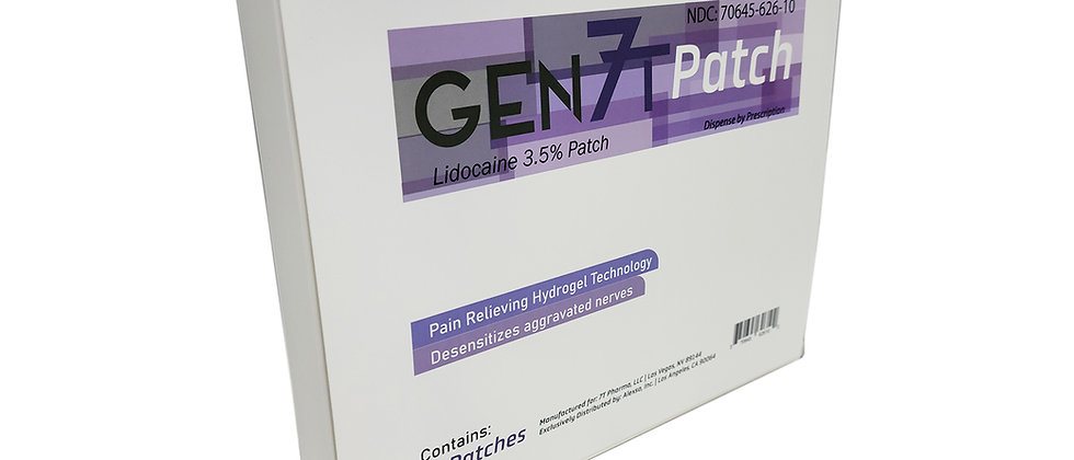 Gen7T Patch (10 Patch or 15 Patch)