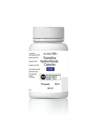 Tizanadine 4mg Bottle.png