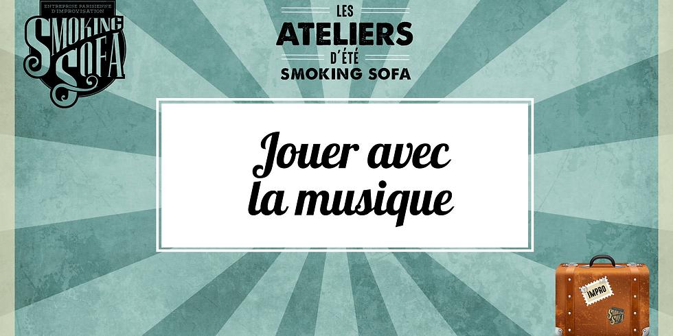 Atelier d'été Smoking Sofa : Jouer avec la musique