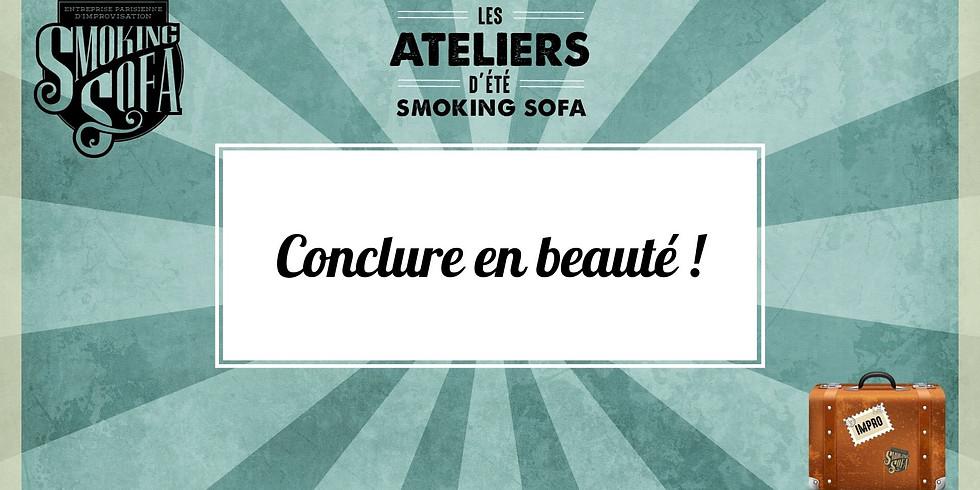 Atelier d'été Smoking Sofa : Conclure en beauté !