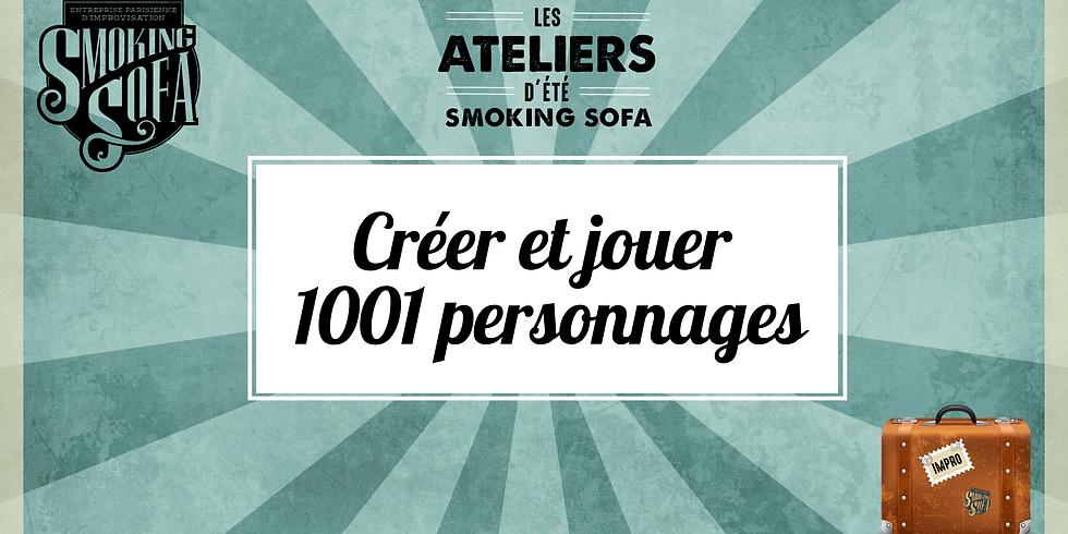 Atelier d'été Smoking Sofa : Créer et jouer 1001 personnages