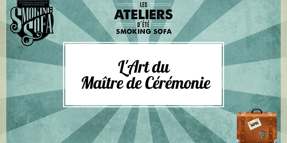 Atelier d'été Smoking Sofa : L'Art du Maître de Cérémonie