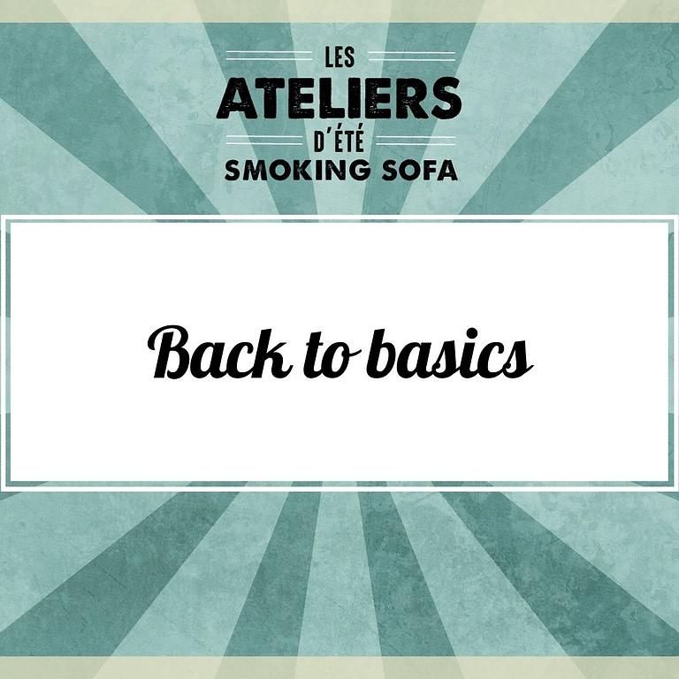 Atelier d'été Smoking Sofa : Back to basics