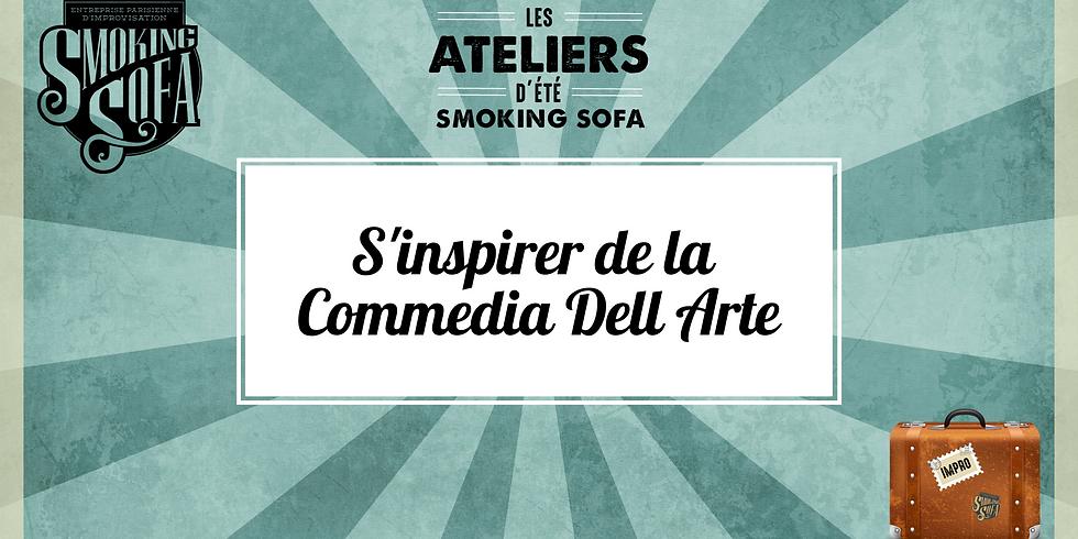 Atelier d'été Smoking Sofa : S'inspirer de la Commedia Dell Arte