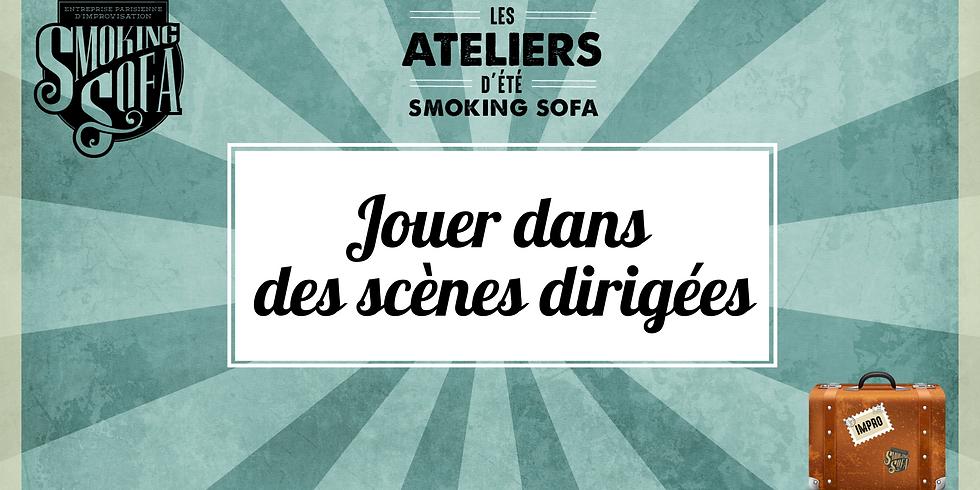 Atelier d'été Smoking Sofa : Jouer dans des scènes dirigées