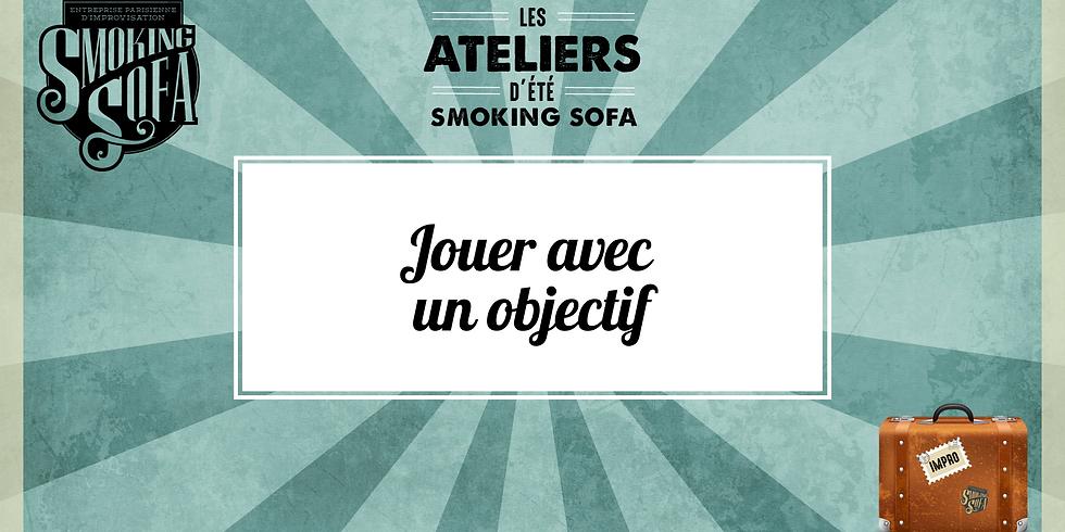 Atelier d'été Smoking Sofa : Jouer avec un objectif