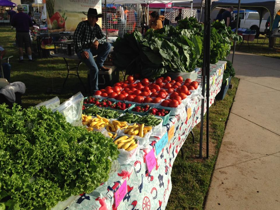 Healthy Food at the Bossier City Farmers Market every Saturday