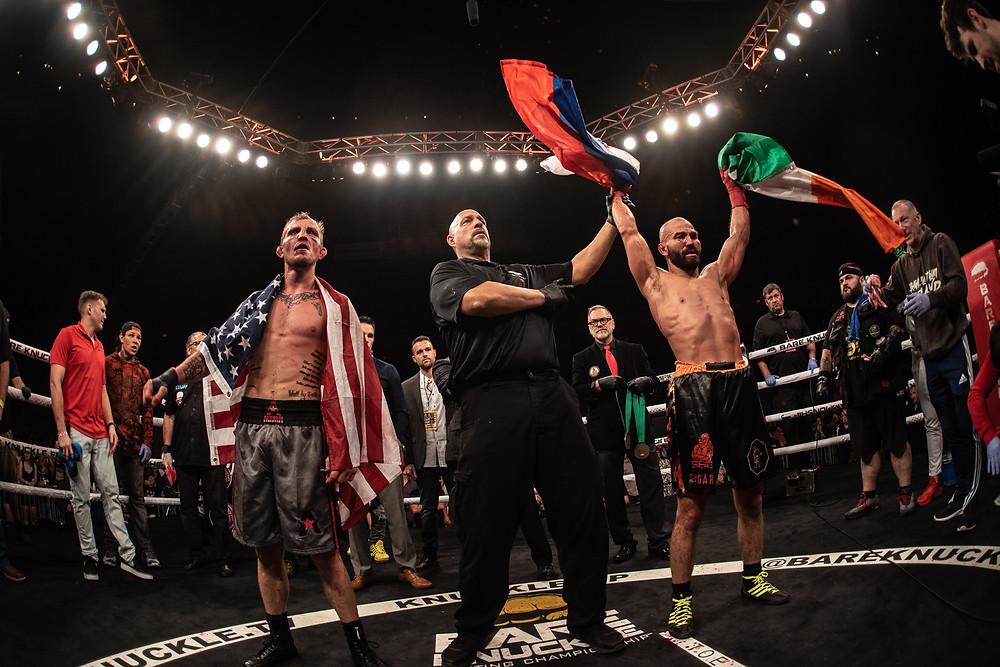 BKFC 5, Jason Knight, Artem Lobov