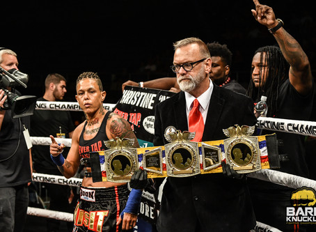 """Christine Ferea:  """"We did our trash talk in the first fight, no need to do it again"""""""