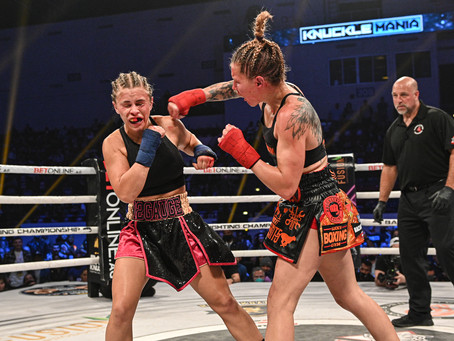 BKFC: KnuckleMania results - Britain Hart outpoints Paige VanZant, Dat Nguyen claims title