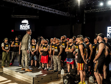 Bare Knuckle FC holds tryouts for upcoming reality show
