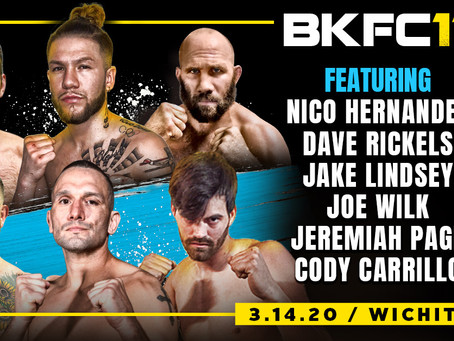 A look at the local competitors stepping into the squared circle in Wichita for BKFC 11