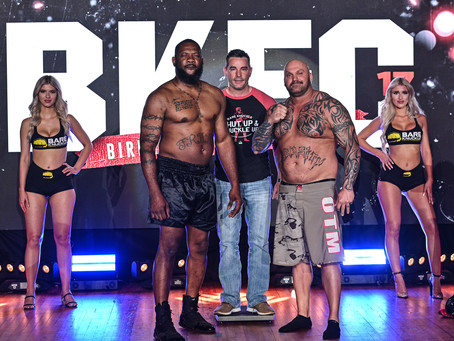 BKFC 17 weigh-in results - Tate vs. Burns