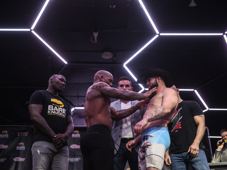 Bare Knuckle FC 10 weigh-in results and video