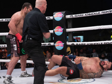 Gabriel Gonzaga Knocks Out Antonio Silva in the BKFC 8  Main Event from Florida State Fairgrounds