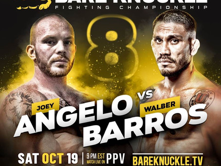 Joey Angelo willing to welcome Hector Lombard or Wanderlei Silva to BKFC after Walber Barros fight