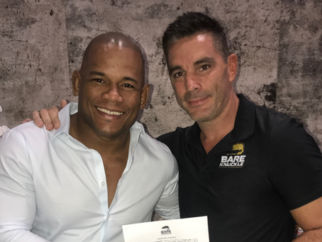 Hector Lombard signs with Bare Knuckle Fighting Championship