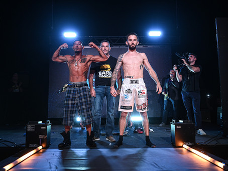 BKFC 20 weigh-in results and video - Bedford vs. Barnett Jr. 2