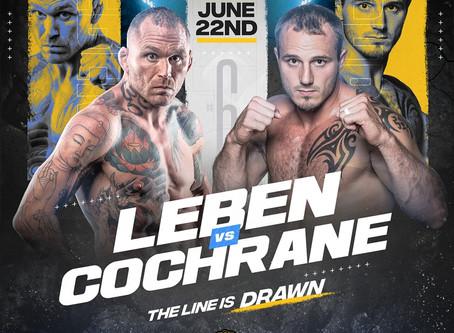 Dakota Cochrane Steps in to Face UFC Veteran Chris Leben at BKFC 6