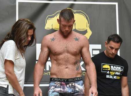 With more than 90 fights under his belt, Robert Morrow finds new home in Bare Knuckle FC