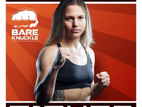 BKFC signs Russian bare knuckle star Ekaterina Makarova