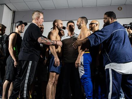 BKFC 6 weigh-in results - Malignaggi vs. Lobov