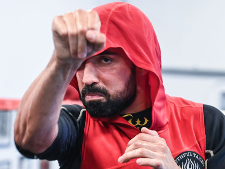 Paulie Malignaggi training camp quotes and video