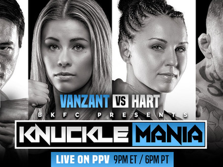 BKFC presents KnuckleMania on February 5 - featuring Paige VanZant