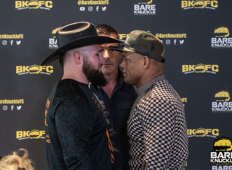 BKFC 10: Lombard vs. Mundell press conference highlights and video