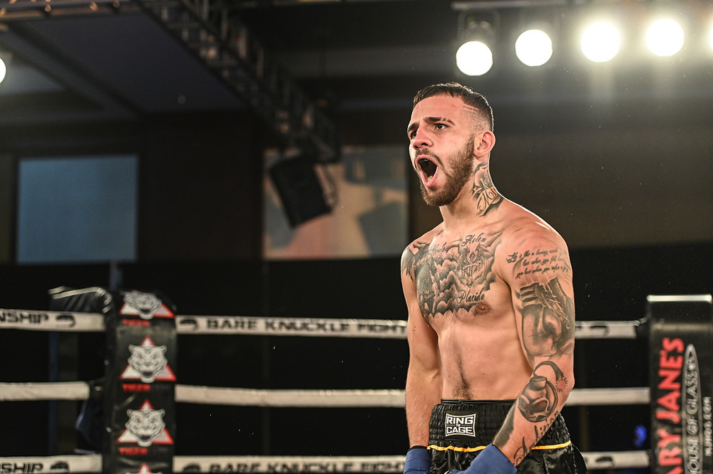 Jarod Grant - BKFC 14 - Photo by Phil Lambert for Bare Knuckle Fighting Championship