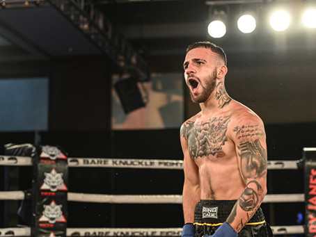 """Jarod Grant: """"I'm going into that ring to knock Travis Thompson out and to make it a blood bath"""""""