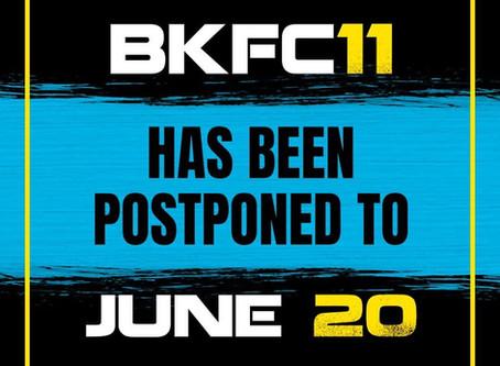 BKFC 11: Hernandez vs. Wilson officially postponed