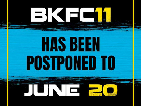 BKFC 11: Hernandez vs. Wilson officially postponed