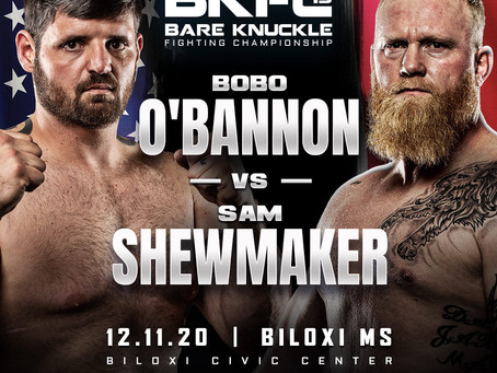 Sam Shewmaker vs. Bobo O'Bannon new BKFC 15 main event